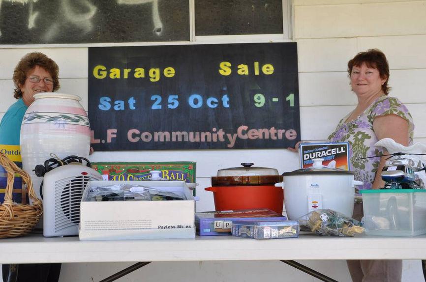 Long Flat Garage Sale